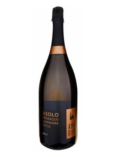 Asolo Prosecco Superiore DOCG Brut – MAGNUM 1,5 l – dárkové balení – Tenuta Amadio