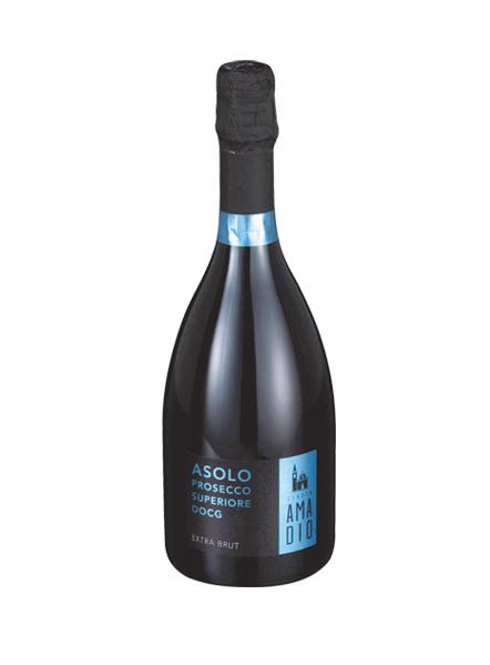 Asolo Prosecco Superiore DOCG Extra brut MAGNUM 1,5 l – Dárkové balení – Tenuta Amadio
